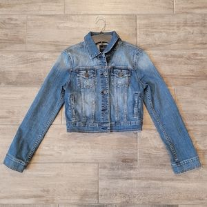 Stitch Fix Just USA Crop / Mini Loula Denim Jacket